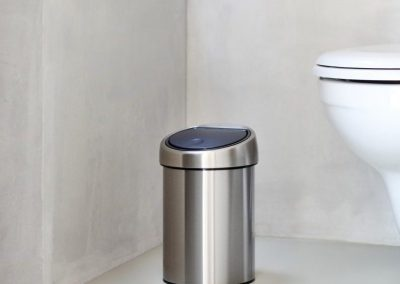 Brabantia Touch Bin Fingerprint Proof