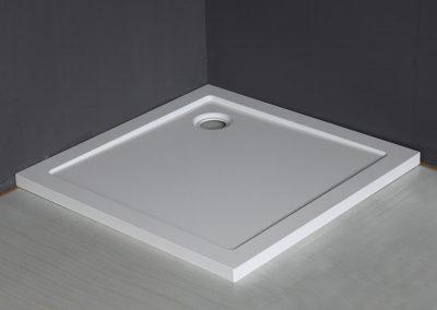 Luxe Douchebak SMC vierkant 900x900x4 Wit