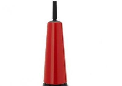 brabantia Toiletborstel met houder rood