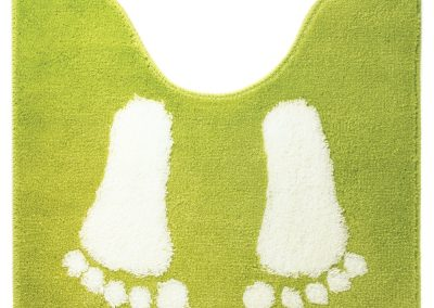 Sealskin amy toiletmat acryl 60x50cm lime