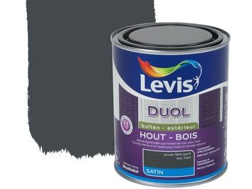 Levis Duol satin verf hout