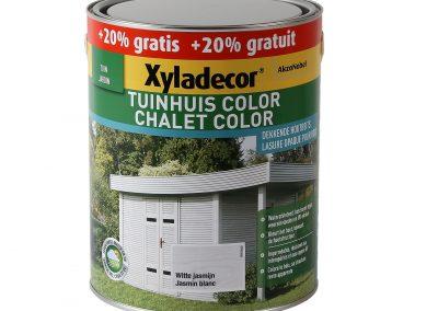 Houtbeits Tuinhuis Color witte jasmijn