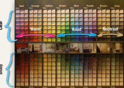 kleuradvies Levis colour mix-collection