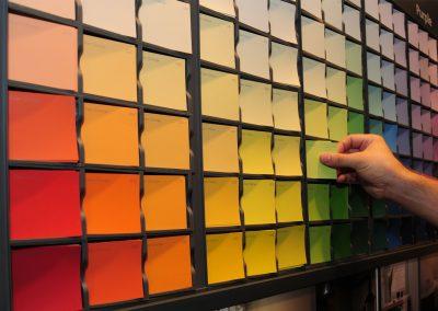 kleurstalen Levis color mix collection Puurs