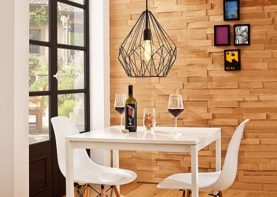 Eglo Carlton zwart vintage hanglamp