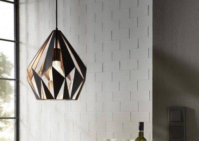 Eglo Carlton vintage hanglamp