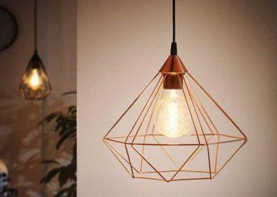 Eglo Tarbes hanglamp vintage