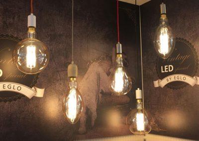 Eglo vintage collectie lampen