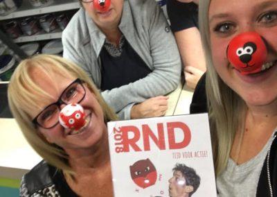 Rode neuzen actie Bouwmarkt Rosiers 2018